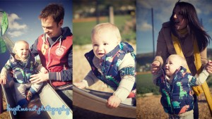 Baby Joshua photoshoot in the park